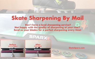Ice Skate Sharpening by Mail